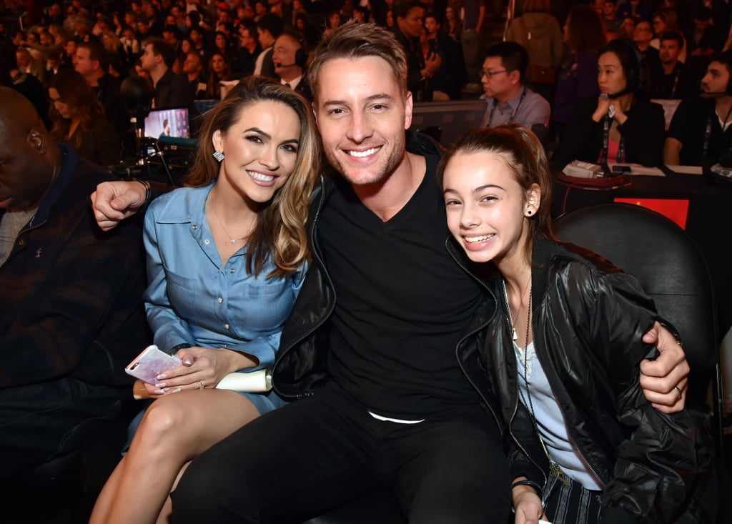 Justin Hartley May Not Be Papa Pearson, but He's Still a No. 1 Dad in Our Book