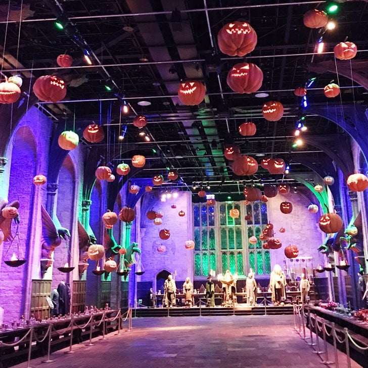 harry potter studio tour halloween photos popsugar entertainment