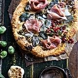 Charred Brussels Sprouts Pizza With Sage Butter