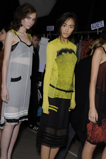 Backstage Photos from New York Fashion Week Spring 2011: Proenza Schouler, Anna Sui, 3.1 Phillip Lim, Ralph Lauren