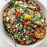 Autumn Lentil Kale Salad With Parmesan