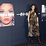 Rihanna's pictures and videos from a recording studio session sent fans into a tizzy.