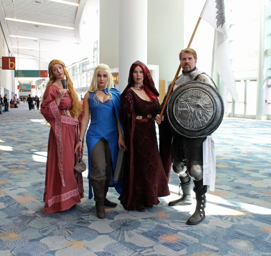 Cersei, Daenerys, Melisandre, and Ned