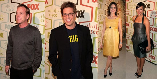 TV Stars Come Out For A Very Fox-y Party
