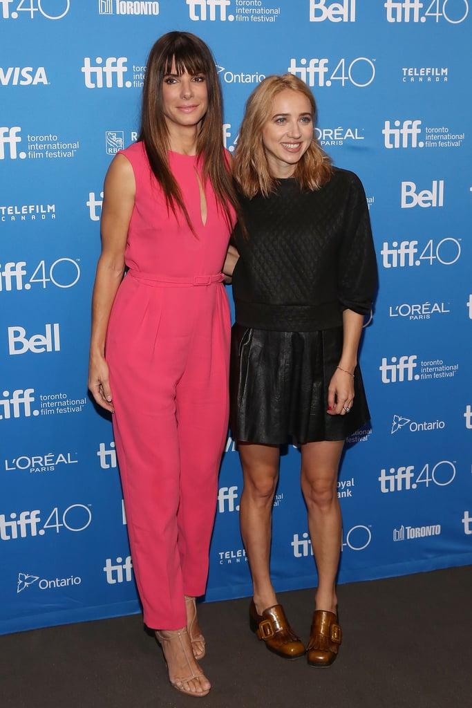 Sandra Bullock and Zoe Kazan