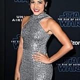 فيليسيا سوندرز في العرض الأول لفيلم Star Wars: Rise of Skywalker في لوس أنجلوس