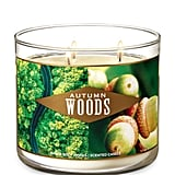Autumn Woods Three-Wick Candle