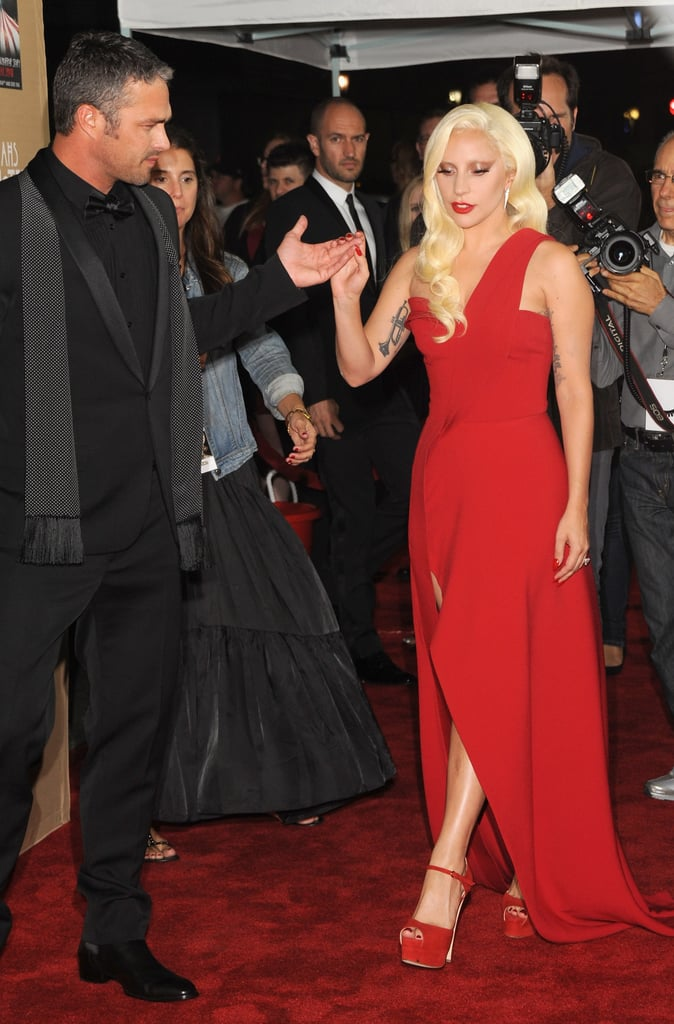 Lady Gaga and Taylor Kinney at AHS Premiere | Pictures