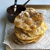 Buñuelos With Cinnamon Chocolate Sauce