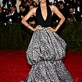 Zoe Saldana at the 2014 Met Gala