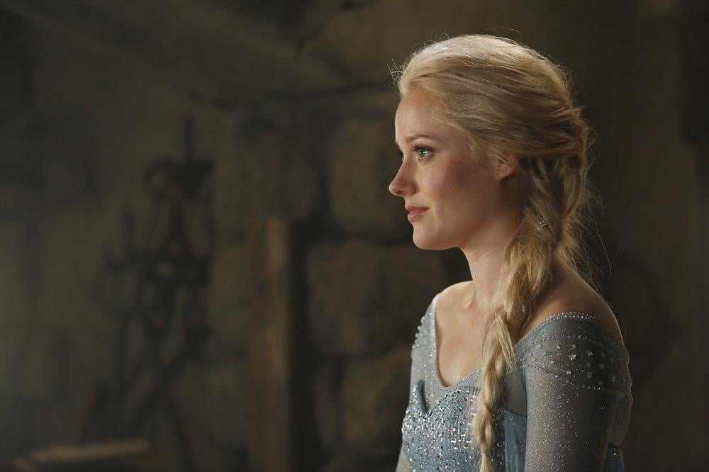 Georgina Haig as Elsa on Once Upon a Time.
