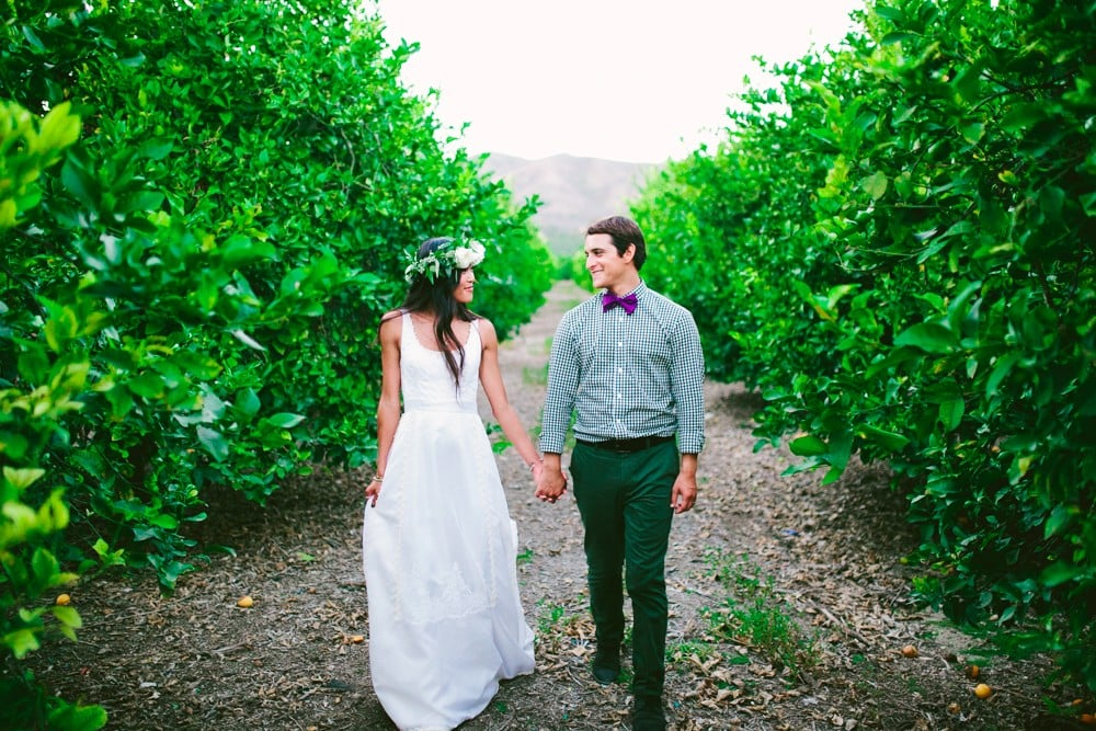 Lemon Orchard Wedding
