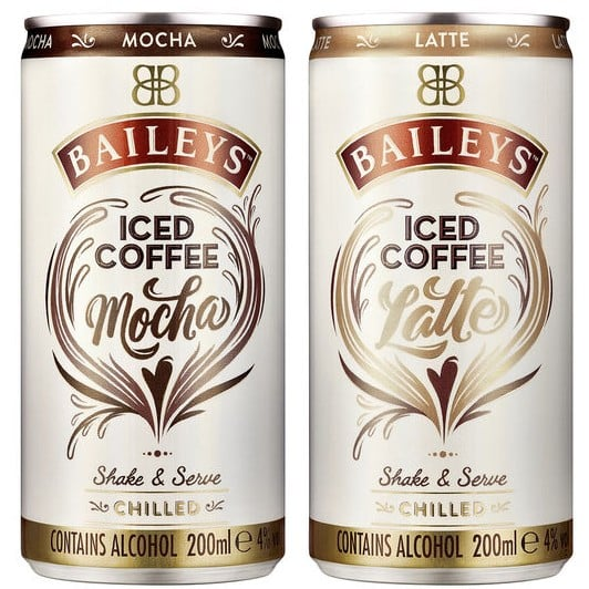 Baileys Iced Coffee Latte Mocha Cans | Review