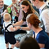 Will and Kate Introduce George