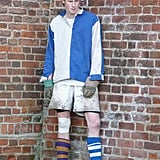 "The young prince took part in a ""Wall game"" while attending Eton in 2003."