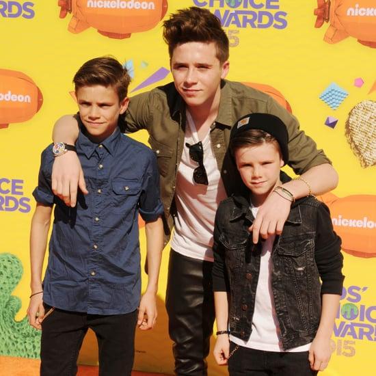 Beckham Kids at the Kids' Choice Awards 2015