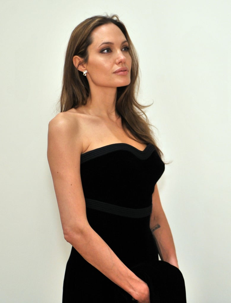 Gallery of Photos from MOCA's 30th Anniversary Gala Plus Angelina Jolie and Brad Pitt Take a Tour