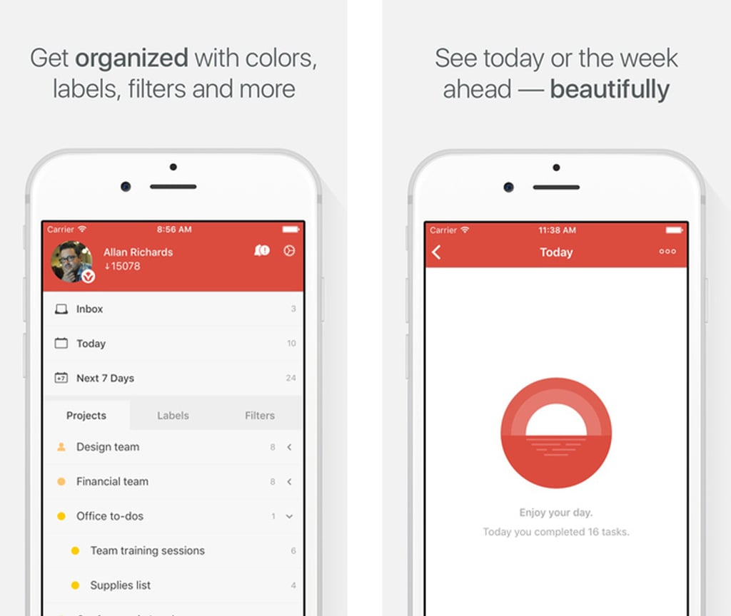 Todoist | Best Free Organization Apps | POPSUGAR Tech Photo 11