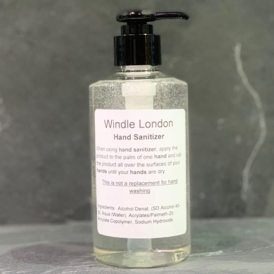 Windle London Salon Laboratory Creates Own Hand Sanitiser