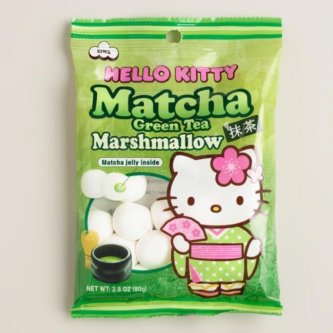 Hello Kitty Matcha Marshmallows