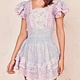 LoveShackFancy Stanton Mini Dress