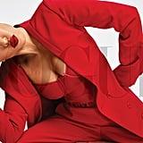 Kourtney Kardashian's Red Lip in Vogue Mexico
