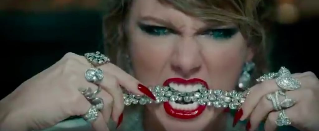 """Taylor Swift's """"Look What You Made Me Do"""" Nails and Makeup"""