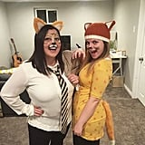 Mr. and Mrs. Fox From Fantastic Mr. Fox