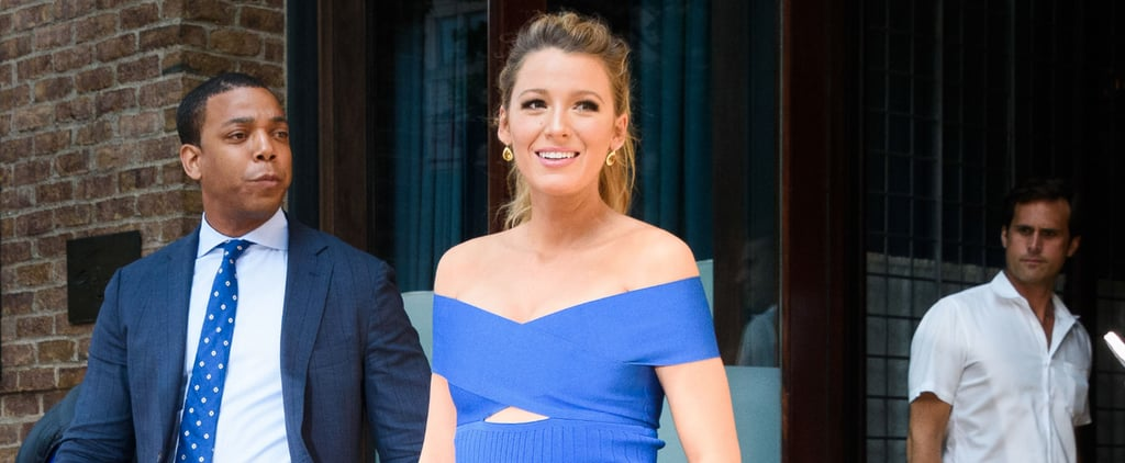 Blake Lively Just Pulled a Very Sexy Style Move While Showing Off Her Baby Bump