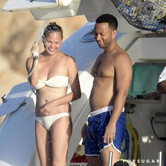 Chrissy Teigen and John Legend in Italy Pictures August 2017