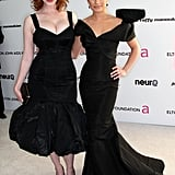Lea got glammed up with Christina Hendricks for Elton John's annual Oscars viewing party in LA in March 2010.