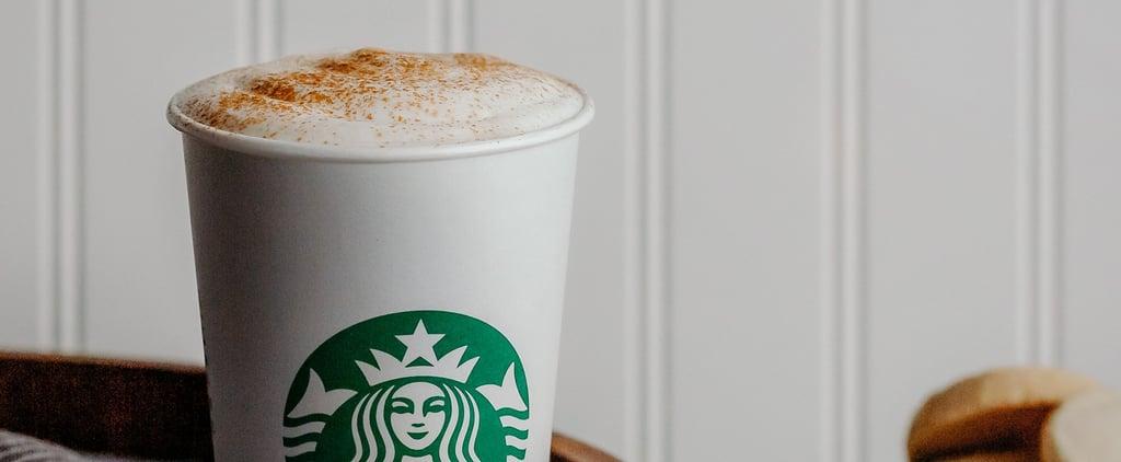 Starbucks Cinnamon Shortbread Latte 2019