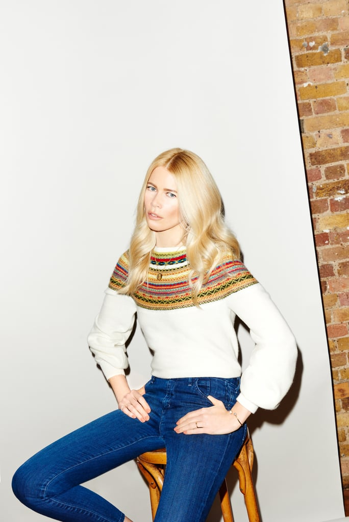 Though Claudia Schiffer is verifiably the supermodel with the most magazine covers, it's her latest sartorial role away from the camera that has us excited. In an exclusive partnership with Stylebop, Claudia released her debut ready-to-wear collection of 40 cozy knitwear and cashmere items. The line is so chic, in fact, that it'll leave you yearning for the coming Fall months . . . if you weren't already. The iconic supermodel had previously tried her hand at fashion design when she launched an eponymous cashmere line in 2011. The line did, however, have a much higher price point. Then — just last year — Claudia created another cashmere collection for Tse, the cashmere specialist that also worked with her on this current collection. So while she's amassed quite a bit of experience already, the new collection is exciting in that it includes more separates, is more affordable, and demonstrates range. Claudia Schiffer Knitwear is currently available online at Stylebop, with prices ranging from $319 to $679. Look ahead for the gorgeous lookbook featuring Claudia, of course, as well as pictures of the collection.