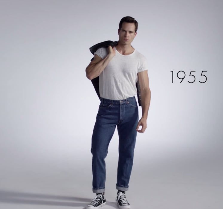 100 Years of Men's Fashion Video | POPSUGAR Fashion