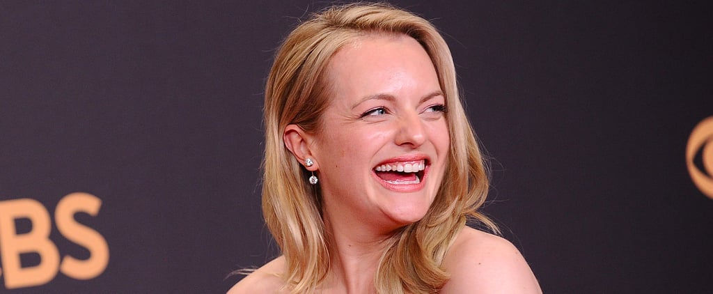 "Why Elisabeth Moss Was ""Freaking Out"" During the Opening Emmys Number"