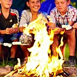 Make s'mores over a fire or the BBQ.