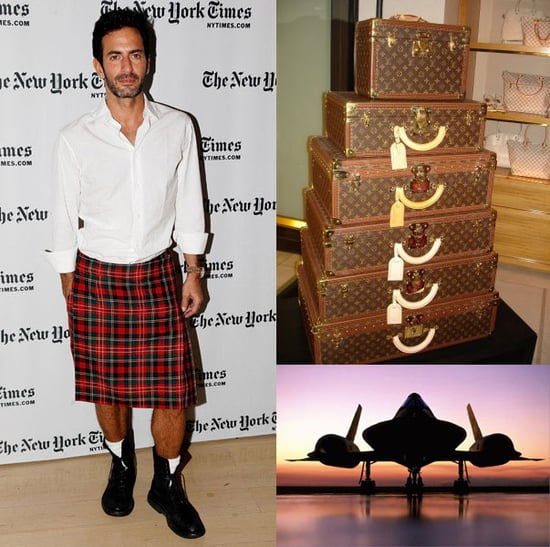 Marc Jacobs Defines Luxury Traveling as Only Taking a Toothbrush