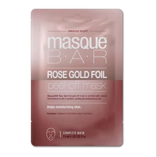 Masque Bar Rose Gold Foil Sheet Mask Review