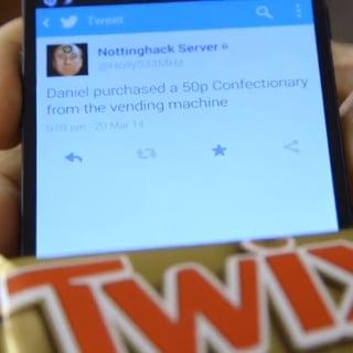 Tweeting Vending Machine