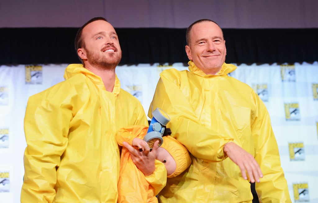 Bryan Cranston and Aaron Paul