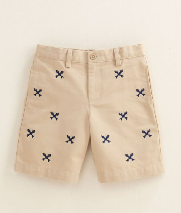 Vineyard Vines Embroidered Fishbone Club Shorts ($50)