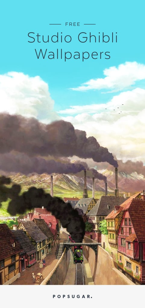 Studio Ghibli Iphone Wallpapers Popsugar Tech