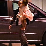 Casper Smart carried Emme Anthony.