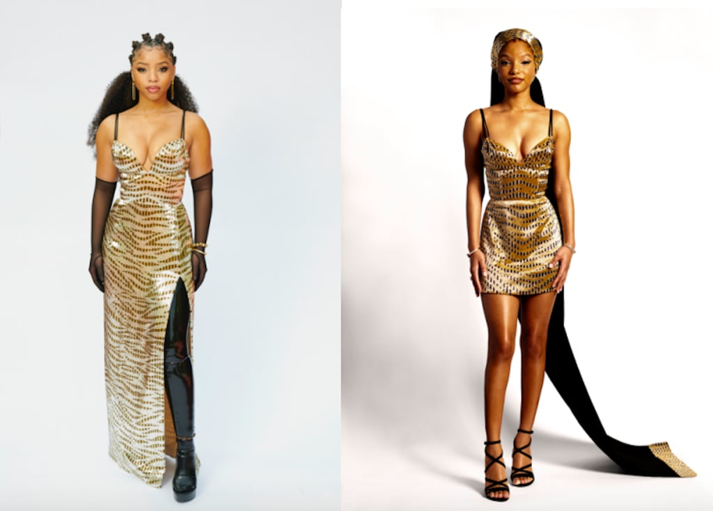 Chloe X Halle's Matching Louis Vuitton Outfits 2021 Grammys
