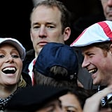 Pictures of Chelsy Davy and Pippa Middleton at Lady Katie Percy's Wedding, Prince Harry and Zara Phillips at Six Nations Rugby