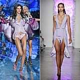The Models Look a Lot Like High-Fashion Runway Models, but With More Makeup and Sexier Outfits