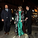 Anna Wintour at the Harper's Bazaar Exhibition During Paris Fashion Week 2020