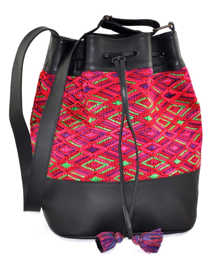 Huipil Bucket Bag ($240)