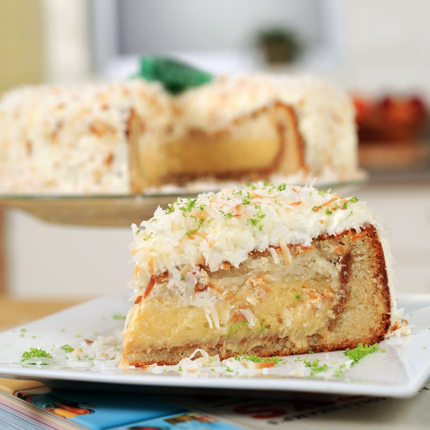 Key Lime Pie in a Coconut Cake | POPSUGAR Food