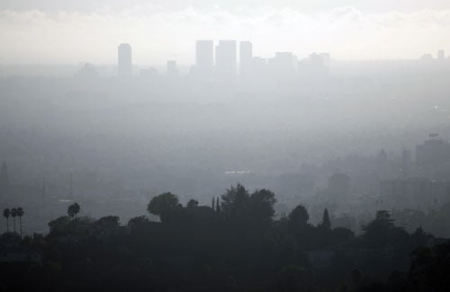 LA Ranks Number One For Dirty Air